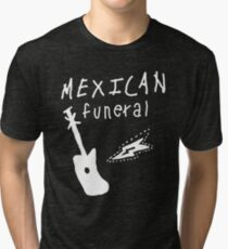Mexican funeral Dirk Gently band shirt design  Tri-blend T-Shirt