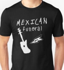 Mexican funeral Dirk Gently band shirt design  Unisex T-Shirt