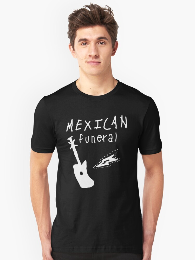 Mexican funeral Dirk Gently band shirt design  Unisex T-Shirt Front