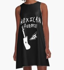 Mexican funeral Dirk Gently band shirt design  A-Line Dress