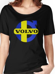 Volvo Swede Carbon Fiber Women's Relaxed Fit T-Shirt