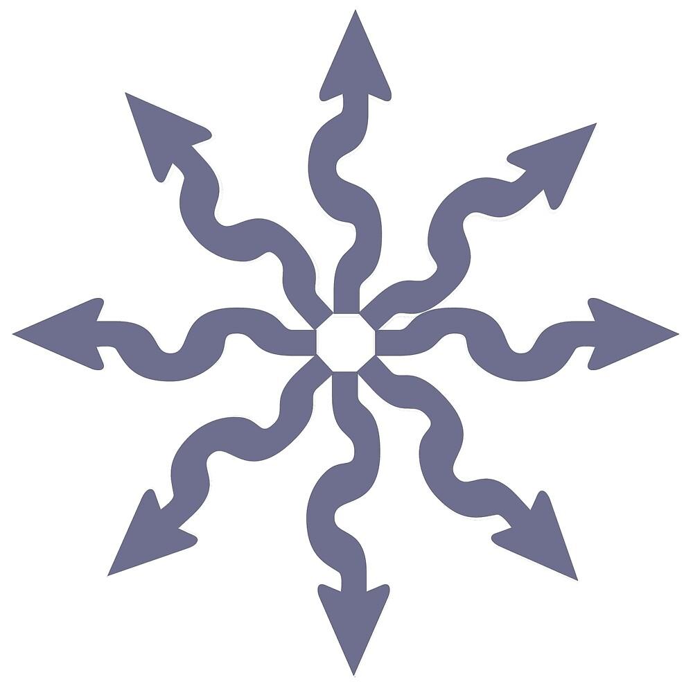 Arrow circle by bluehair