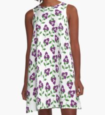 Bogenvil Yu Stail Flawa A-Line Dress