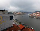 Selfies above the Douro  River, Porto, Portugal by trish725