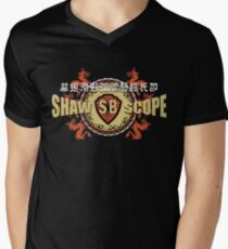 Shaw Brüder T-Shirt mit V-Ausschnitt für Männer