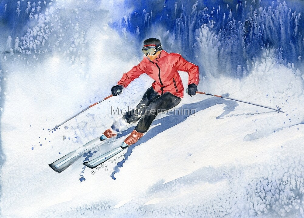 Winter Sport by Melly Terpening