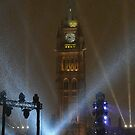 New Years Eve, Parliament Hill, Ottawa, Canada 2017 by Jim Cumming