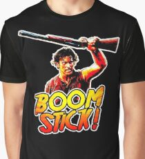 Boom Stick Ash Graphic T-Shirt