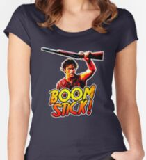 Boom Stick Ash Women's Fitted Scoop T-Shirt