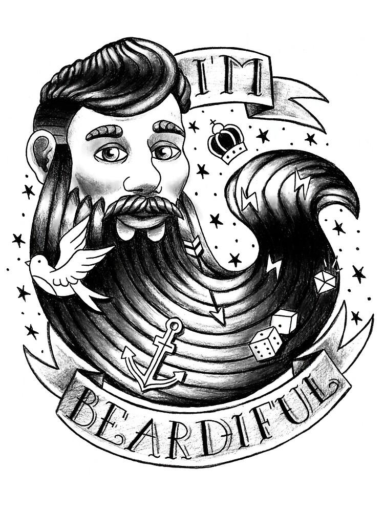 I'm beardiful by by-mika