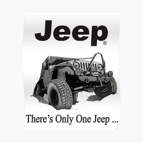 Jeep Posters Redbubble