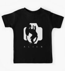 Alien Silhouette  Kids Clothes