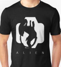 Alien Silhouette  Unisex T-Shirt