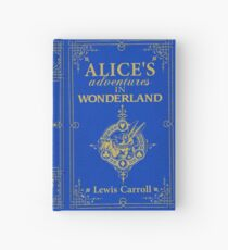 Alice in Wonderland Hardcover Journal