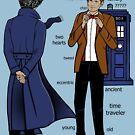 Sherlock meets the Doctor von chloeroseart