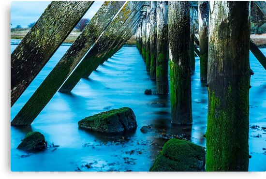 Its All Water Under The Bridge by AmandaJanePhoto