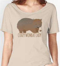Crazy wombat lady Women's Relaxed Fit T-Shirt