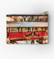 Gardner Village - Little Red Bridge Studio Pouch