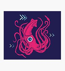 Giant Squid Photographic Print