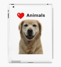Animal Print-Love Animals-Dog iPad Case/Skin