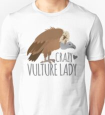 Crazy Vulture Lady Slim Fit T-Shirt