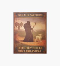 BioShock Infinite – The False Shepherd Seeks Only To Lead Our Lamb Astray Poster Art Board