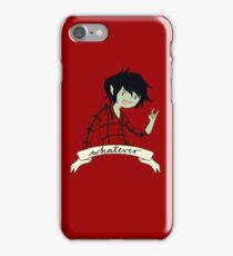 marshall lee - whatever iPhone Case/Skin