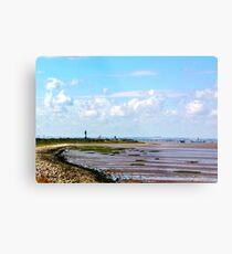Humber Estuary Metal Print