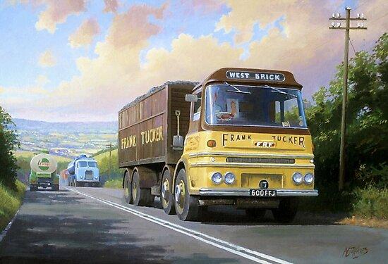 Frank Tucker's ERF by Mike Jeffries