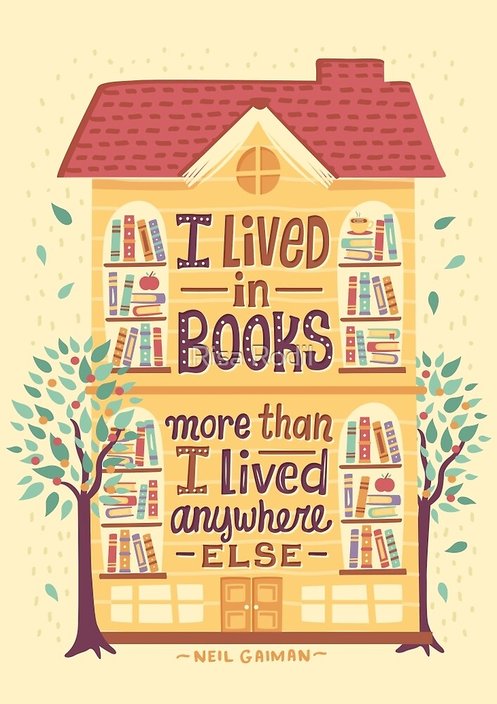 Lived in books by Risa Rodil