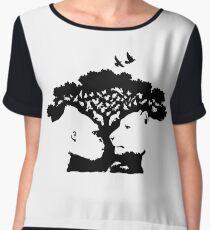 Animals Tree Chiffon Top
