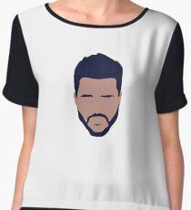 The Weeknd Chiffon Top