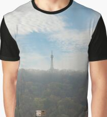 Petrin lookout tower, Prague Graphic T-Shirt
