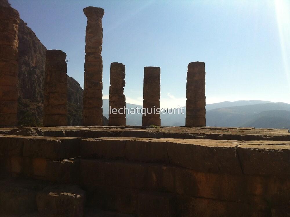 Six Pillars of Wisdom by lechatquisourit