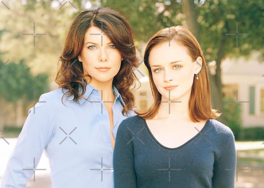 Lorelai and Rory Gilmore by sammyniki92