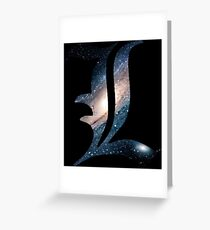 Spacey L Greeting Card
