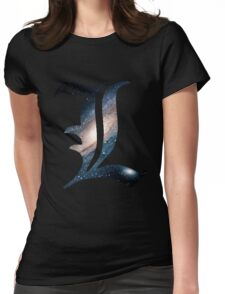 Spacey L Womens Fitted T-Shirt