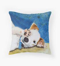 Jack  Russell Terrier Junior Throw Pillow