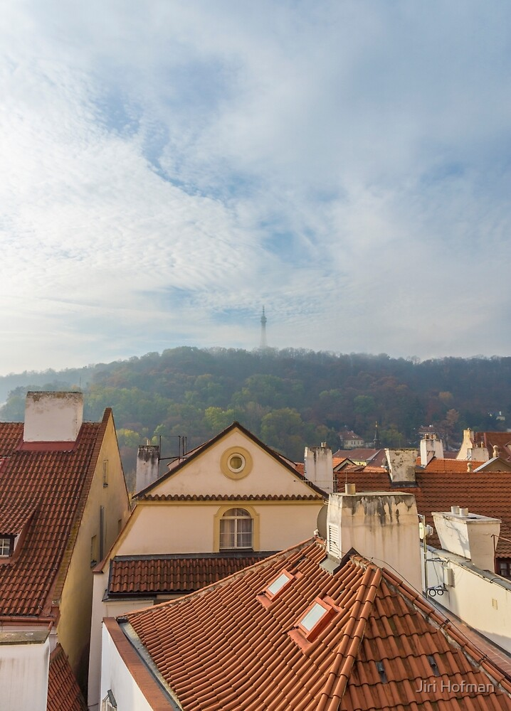 Petrin lookout tower, Prague by Jiri Hofman