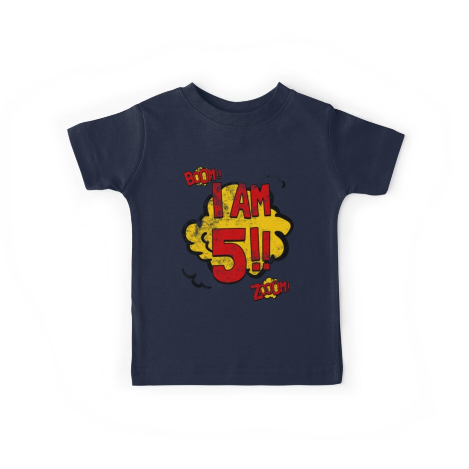 5th Birthday Superhero Party by superpartytees