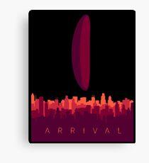 Arrival Movie Canvas Print