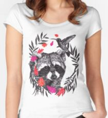 Pocahontas Inspired Women's Fitted Scoop T-Shirt