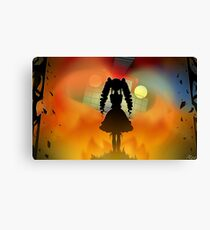 The Burning of the Versailles Witch (Danganronpa) Canvas Print