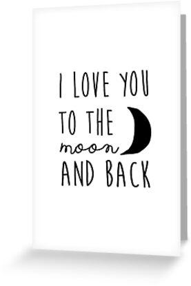 Ich liebe dich zum Mond und zurück Kindergarten druckbare Zitat, druckbare Frauen Geschenk druckbare Kunst von Nathan Moore