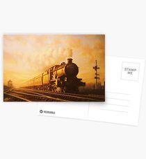 Up express to Paddington Postcards