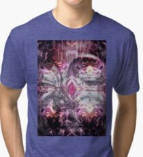 Psychedelic Abstract Tri-blend T-Shirt