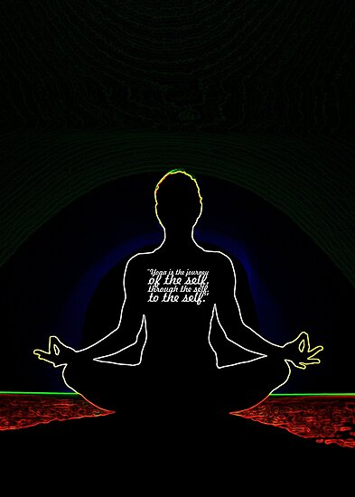 "Yoga is the... ""The Bhagavad Gita"" Life Inspirational Quote by Powerofwordss"