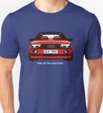 Fire Up the Quattro! Slim Fit T-Shirt