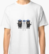 Grizzly Police Officer Squad Classic T-Shirt