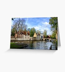 Beguinage (Begijnhof), Bruges Greeting Card